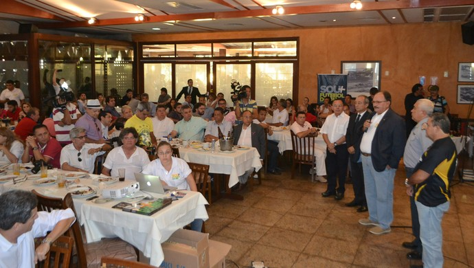 Lançamento Plano Comercial Campeonato Potiguar - Rio Grande do Norte (Foto: Jocaff Souza/GloboEsporte.com)