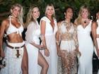 Famosas usam looks brancos em festa de hotel em Jericoacoara