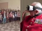 Realidade virtual 'leva' veterano da 2ª Guerra de volta a cidade que libertou dos nazistas
