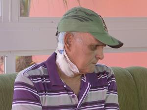 Idoso viaja três vezes por semana para tratar insuficiência renal (Foto: Reprodução/TV TEM)