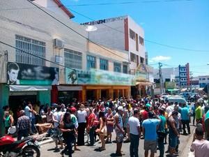 Estabelecimento fica no centro da cidade (Foto: Uberlan Costa / Blog Marcos Frahm)