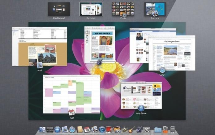Mac OS X 10.7 Lion: começa o processo de unificação do Mac OS X com o iOS (Foto: Divulgação/Apple)