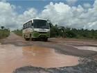 Condições precárias da PA-263 causam riscos a motoristas no Pará
