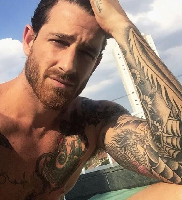 Leandro D'lucca, o novo affair de Cleo Pires (Foto: Reprodução/Instagram)