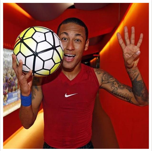 Neymar bola do jogo