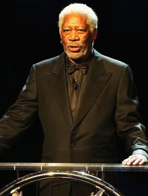 Prêmio Laureus - Morgan Freeman (Foto: Getty Images)