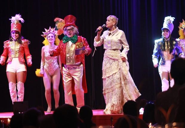 Xuxa se apresenta em evento beneficente em São Paulo (Foto: Celso Tavares/ EGO)