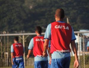 Roberson Higor Julinho treino Avaí (Foto: Marcelo Silva)