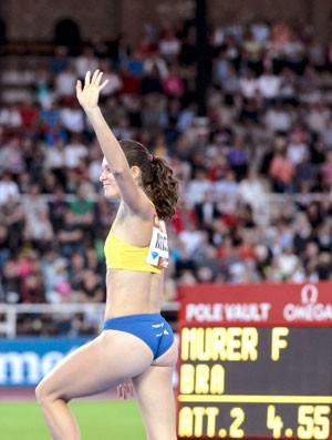 Fabiana Murer, Estocolmo da Diamond League (Foto: Agência Reuters)