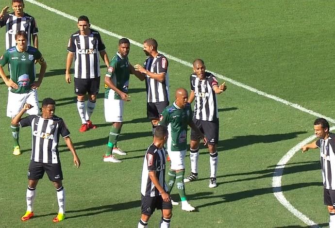 Atlético-MG e Uberlândia; Independência (Foto: Reprodução/ TV Globo MInas)