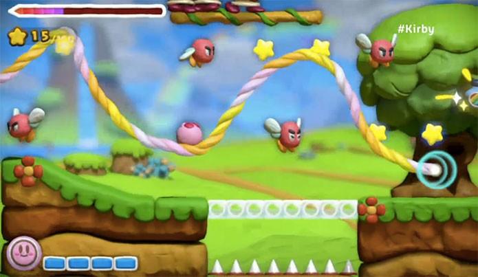 Kirby & The Rainbow Curse (Foto: Divulgação)