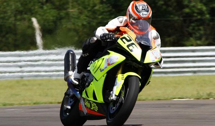 Daniel Lenzi Piloto moto, Paraná (Foto: Reprodução / Moto1000GP)