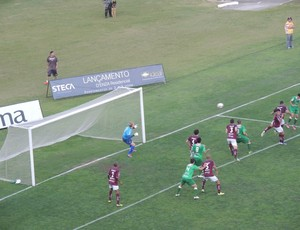 Caxias x Luverdense Série C gol Gilson (Foto: Hector Werlang)