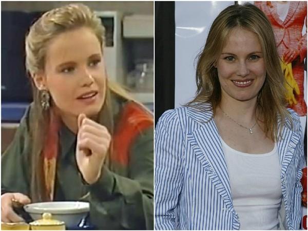 Maureen Flannigan em 1989 e 2012 (Foto: Divulgação/Getty Images)