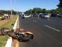 Acidentes com motos deixam dois mortos no Distrito Federal
