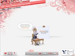 FGV Ensino Médio Digital, videoaulas, aulas em vídeo (Foto: Reprodução)