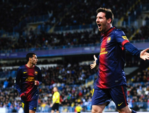 LIonel MEssi barcelona gol osasuna (Foto: Agência Getty Images)