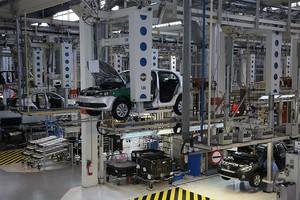 Linha de produção da VW em São Bernardo do Campo (SP) (Foto: Volkswagen)