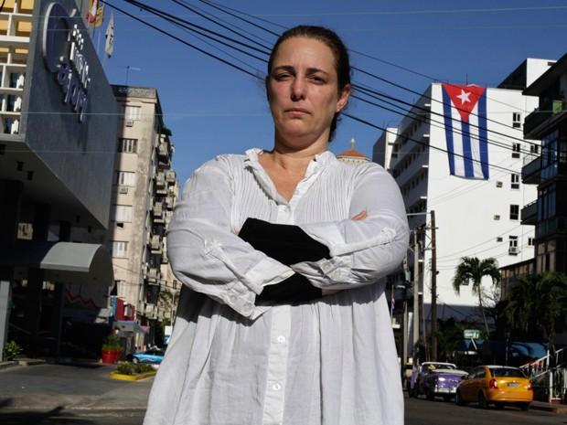 Artista cubana Tania Bruguera foi detida na última terça-feira e libera no dia seguinte (Foto: Reuters)