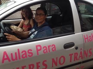 Marli sofreu acidente e tinha medo de dirigir no trânsito (Foto: Rafaella Mendes/G1)