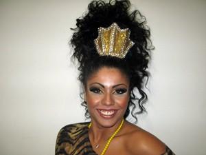 Deborah Xavier Caetano, rainha de bateria da Nenê de Vila Matilde (Foto: Marcelo Mora/G1)