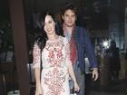 Katy Perry curte o 'Valentine's Day' em jantar romântico com John Mayer