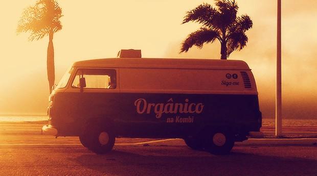 O Orgânico na Kombi faz a venda itinerante de alimentos sem agrotóxicos em Florianópolis (Foto: Divulgação)