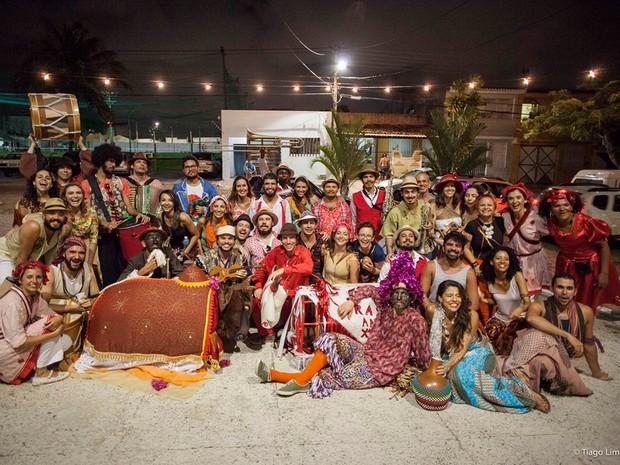 Organizadores do festival 'O Mundo Inteiro é um Palco' fazem financiamento coletivo para promover 4ª edição do evento (Foto: Tiago Lima)