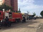 Corpo de PM morto após tentativa de assalto é sepultado em Fortaleza