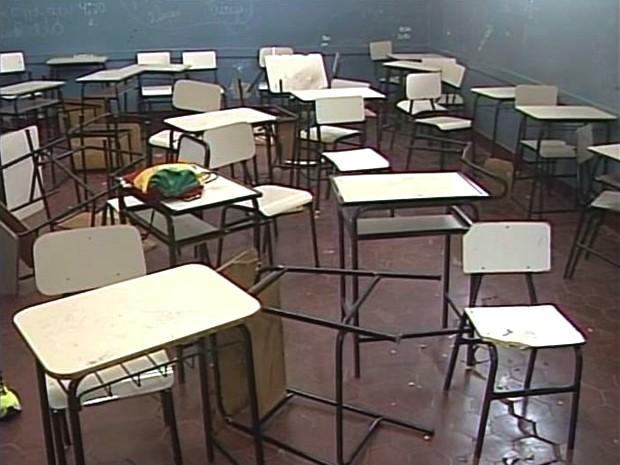 Escola Ituiutaba (Foto: Reprodução/TV Integração)