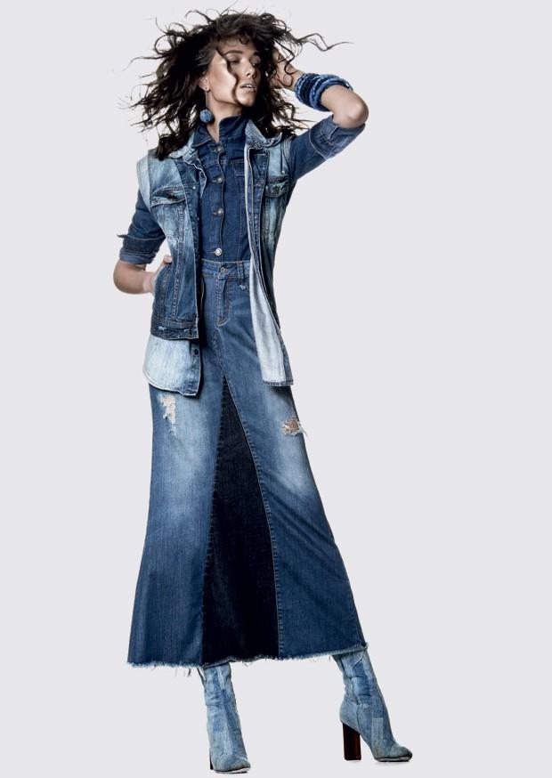 Look all jeans em ensaio de Marie Claire (Foto: Rafael Pavarotti (SD MGMT))