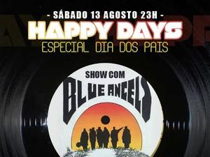 Banda Blue Angel's anima festa de Dia dos Pais (Foto: Divulgação/Clube dos Funcionários)