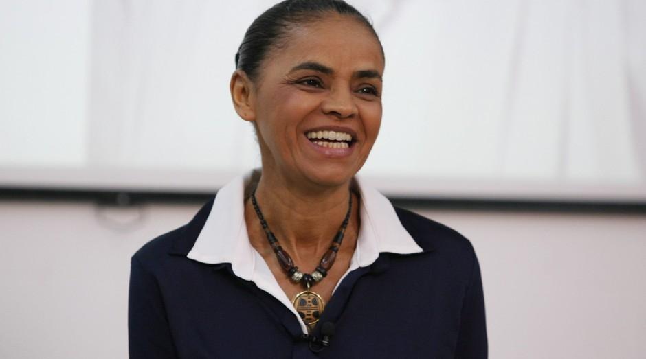 Caso eleita, Marina Silva promete entregar um projeto de reforma tributária em seu primeiro mês como presidente (Foto: O Globo)