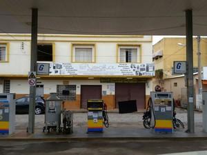 Posto de gasolina do empresário está em luto e foi fechado nesta quinta (Foto: Wagner Oliva/Arquivo Pessoal)