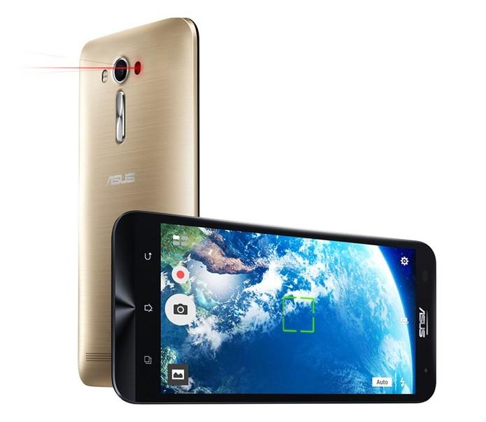 Zenfone 2 Laser também é equipado com a tecnologia (Foto: Divulgação/Asus) (Foto: Zenfone 2 Laser também é equipado com a tecnologia (Foto: Divulgação/Asus))