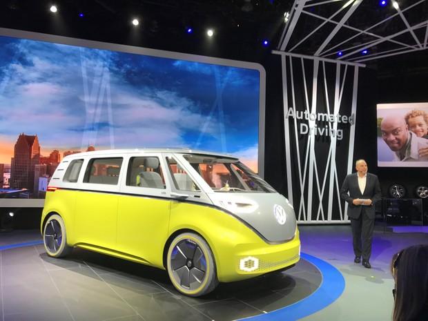 Volkswagen ID Buzz (Foto: REUTERS/Joe White)