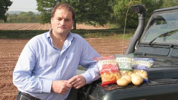 Chase vendeu a empresa de batatinhas fritas em 2008  (Foto: BBC)