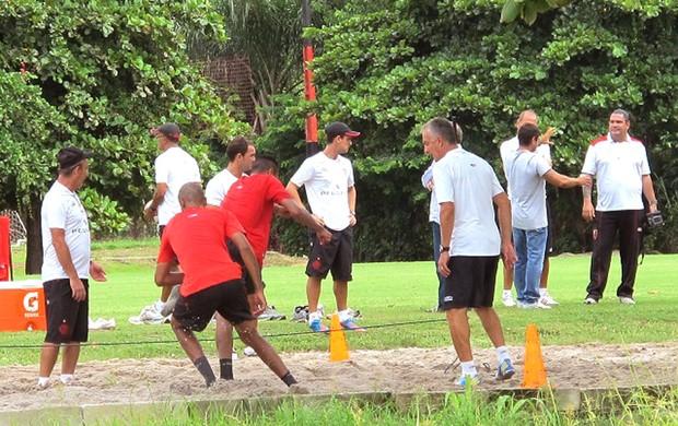 treino físico Flamengo (Foto: Richard Souza)