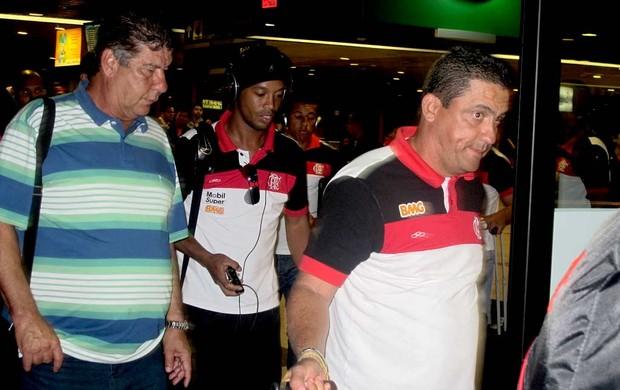 Joel e R10 - Flamengo (Foto: Richarad Souza /Globoesporte.com)
