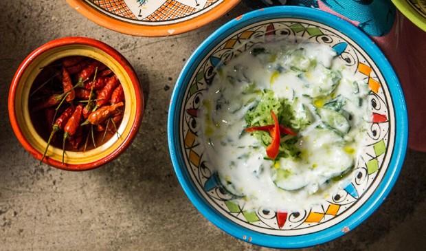 Raita de pepino e iogurte (Foto: Divulgação)