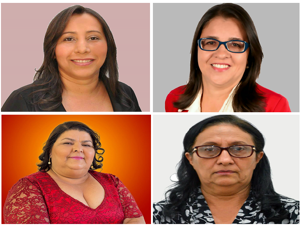Candidatas mulheres em prefeituras do Tocantins (Foto: Montagem/G1)