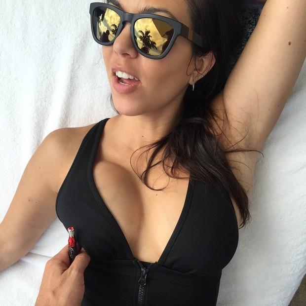 Kourtney Kardashian (Foto: Instagram / Reprodução)