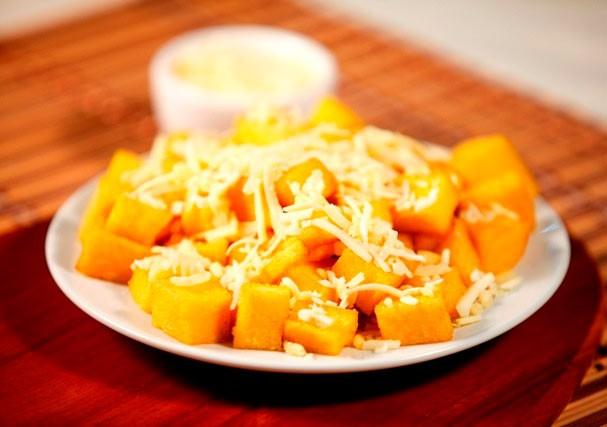 A polenta deliciosa do restaurante Frango Assado (Foto: Divulgação)