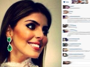 Andressa Mendonça postou fotos do desfile beneficente no Palácio das Esmeraldas, em Goiânia (Foto: Reprodução/Instagram)