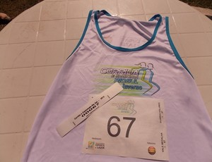 Kits para corrida e caminhada Rio Sul de Inverno são entregues (Foto: Thomas Marques/TV Rio Sul)