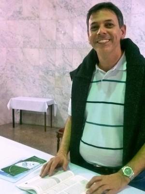 Padre Tarcísio Monay Paróquia Sagrado Coração Juiz de Fora (Foto: Roberta Oliveira)