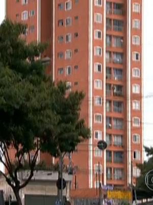 Prédio onde zelador foi visto pela última vez (Foto: Reprodução / TV Globo)