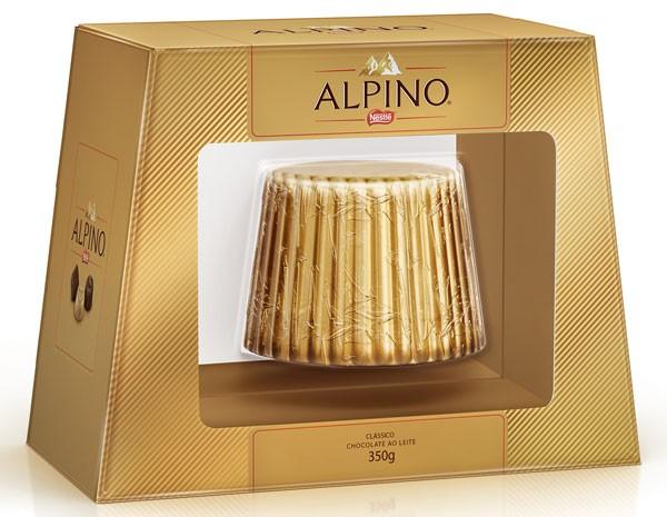 Alpino Formato é o lançamento da Nestlé no gigantismo - bombons gigantes (Foto: Divulgação/Nestlé)