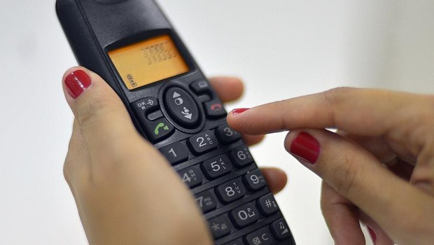 Telefone fixo ; telefonia ; aumento de tarifas telefônicas ;  (Foto: Marcello Casal Jr/Agência Brasil)