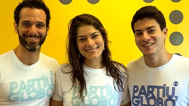 Fãs e famosos se reúnem em corrida 'Partiu, Globo' (Divulgação)